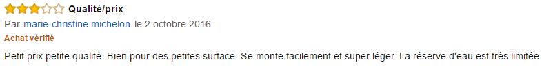 balai vapeur Vaporetto SV100 avis (2)
